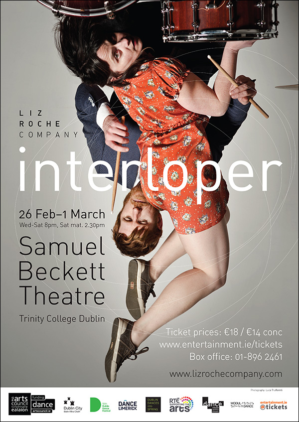 Interloper by Liz Roche Company Photo by Luca Truffarelli Poster
